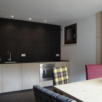 Cucina appartamento RIGL a Sauris di Sopra